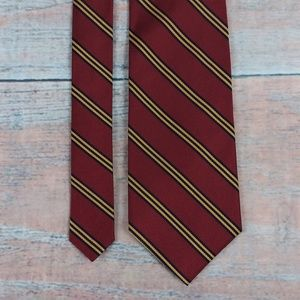 Brooks Brothers Red Blue Gold Pure Silk Tie